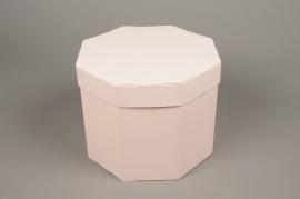 A022K1 Boîtes en carton rose D27 H20cm