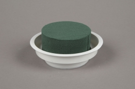 A023QV Set of 12 cups with Ideal floral foam