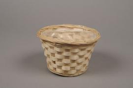 A023VX Bamboo bowl D15cm H9cm