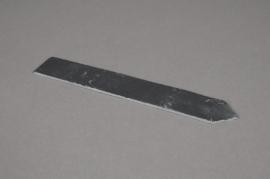 A024B2 Paquet de 10 étiquettes ardoise 20x3cm