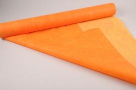 A024RB Rouleau non tissé orange 80cmx20m