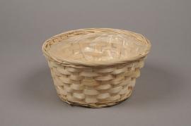 A024VX Bamboo bowl D20cm H10cm