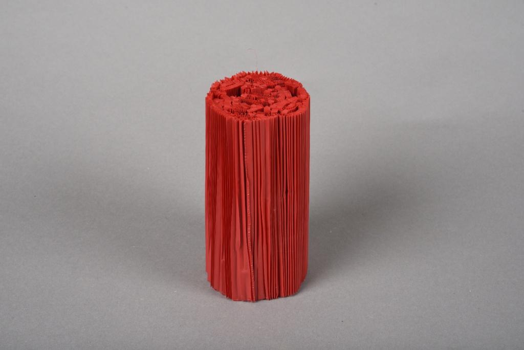 A025Z5 Paquet de 100 manchettes rouge H14.5cm