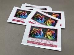 A026MQ Pack of 15 postcards  Plaisir d'offrir