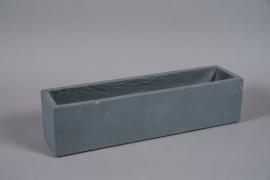 A026NM Grey fiber planter 70x18cm H18cm