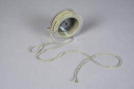 A026QL Ruban corde vert 3mm x 25m