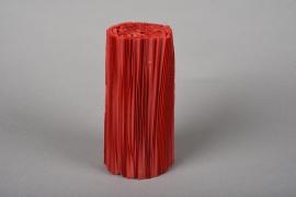 A026Z5 Paquet de 100 manchettes rouge H16.5cm