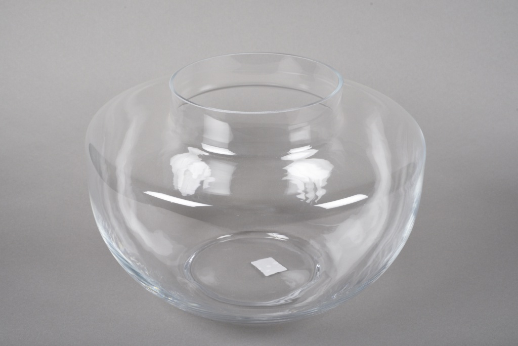 A027IH Design glass vase D37cm H25cm