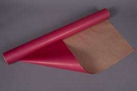 A027QX Rouleau de papier kraft rose 0,80x50m