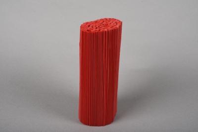 A027Z5 Paquet de 100 manchettes rouge H18cm