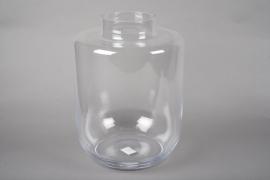 A028IH Design glass vase D30cm H40cm