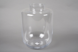 A028IH Design glass vase D30cm H40cm