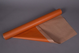 A028QX Kraft paper roll orange 0,80x50m