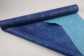 A028RB Rouleau non tissé bleu 80cmx20m