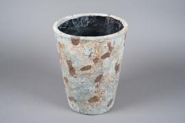 A028W6 ache-pot en terre cuite vieilli D27cm H35cm