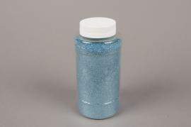 A029BW Pot 400g paillettes turquoise