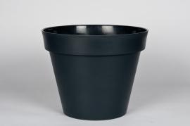 A030A6 Pot toscane gris D30cm H26cm