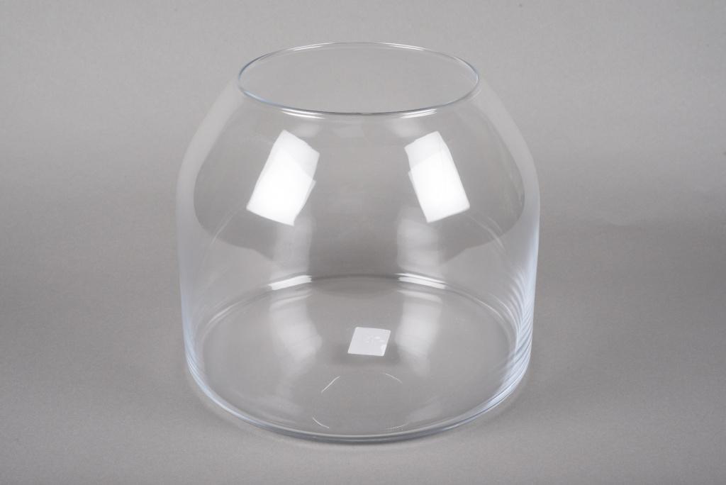 A030IH Design glass vase D25cm H25cm