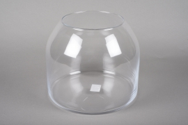 A030IH Design glass vase D25cm H25cm