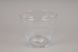 A031H9 Pot hoticole en verre D15cm H12.5cm