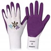 A031JE Paire de gants Fleurs et balcon taille 6