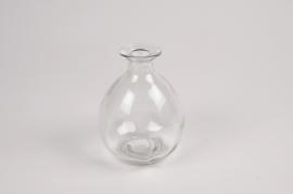 A031NH Vase en verre D9cm H12cm