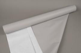 A033QX Rouleau papier kraft gris 80cmx120m