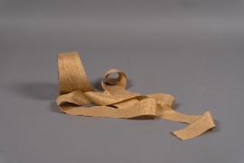 A033UN Gold satin ribbon 40mm x 20m