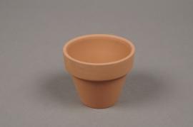 A034KF Pot horticole en terre cuite D7cm H6cm