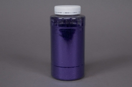 A035BW Glitter pot 400g purple
