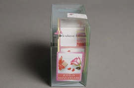 A035MQ Box of 500 adhesive labels joyeux anniversaire