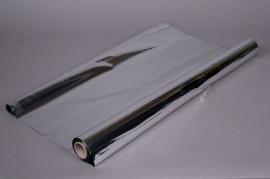 A035QX Rouleau de papier métal argent 0,70x50m