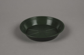 A035T7 Soucoupe en plastique verte D16cm