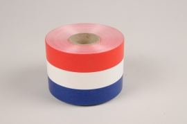 A037RB French color bereavement ribbon 75mm x 50m