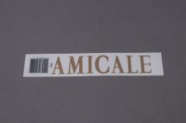 A039K4 Pochette AMICALE 33mm