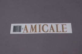 A039K4 Pochette AMICALE 33mm