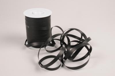 A039RB Bolduc mat noir 10mm x 250m