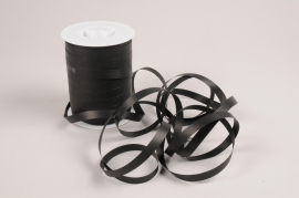 A039RB Curling ribbon black matte 10mm x 250m