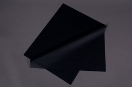 A040AS Ream of 520 tissue paper sheets black 50x75cm