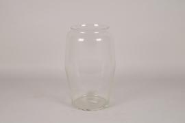 A042IH Vase en verre déco D23.5cm H38cm