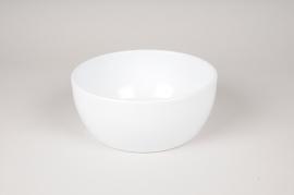 A043A8 Coupe en céramique blanche D22cm H9cm