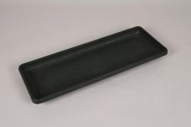 A043DB Soucoupe en plastique vert 52x20cm