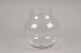 A043IHGlass vase D19cm H19cm