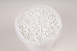 A043QF White gravel bucket 2,5L