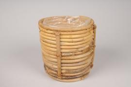 A043UV Cache-pots en royin D17cm H16cm