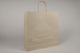 A044AS Bag of 25 brown kraft bags 36x12cm H41cm
