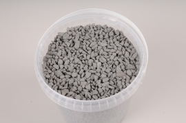 A044QF Seau 2.5L de gravier gris