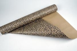 A044RB Roll of kraft paper desing leopard 70cm x 50m