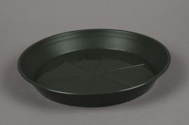 A044T7 Soucoupe en plastique verte D35cm