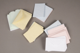 A045AS Pack of 100 coloured index cards with envelope